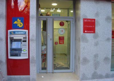 Señalética Banco Santander España